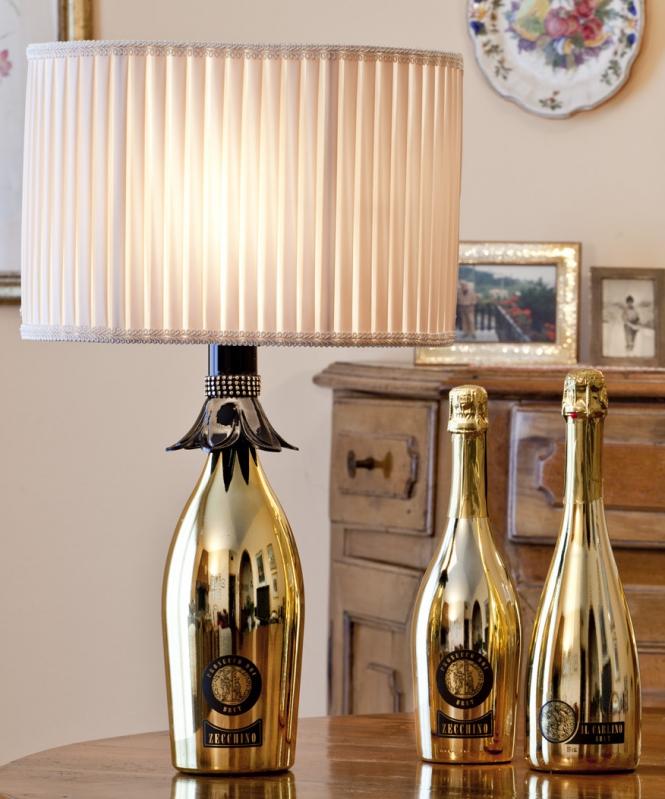 Lampade Con Bottiglie Di Vino: Lampade fai da te Foto 21 41 NanoPress Donna.